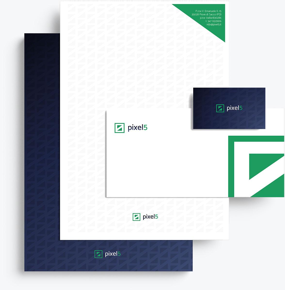brand identity pixel5