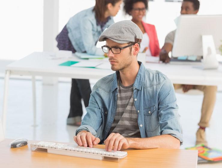 web designer a lavoro