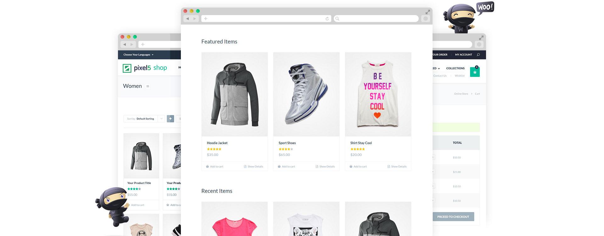 pagina shop